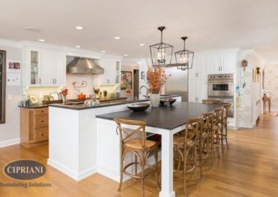 Haddonfield Kitchen Remodel Galley to Open Concept