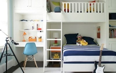 Here are the latest trends for children's bedrooms